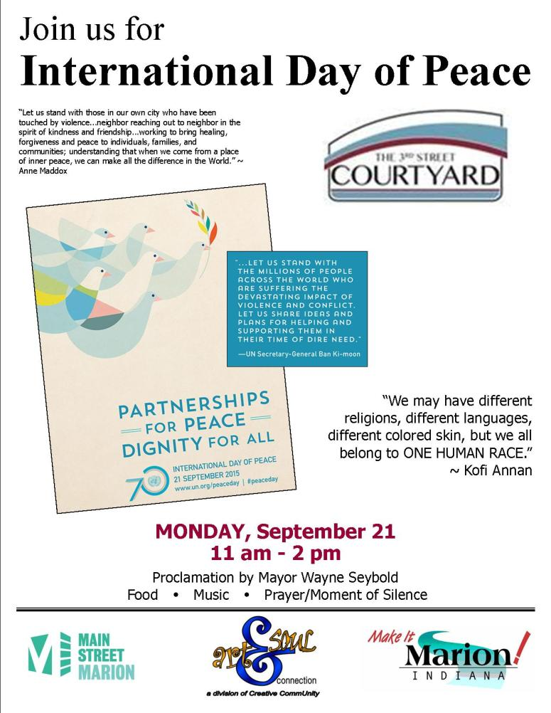 flyer - day of peace